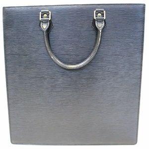 LOUIS VUITTON Epi Leather Sac Plat Satchel Bag